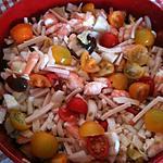 recette Salade aux 3 tomates et endives +++