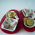 recette Roulés de jambon au roquefort
