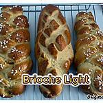 recette BRIOCHE LIGHT