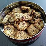 recette Cookies avoine coco amande