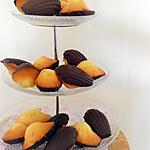 recette Madeleines en coque de chocolat: