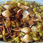 recette Carne de Porco Ameijoas(ragoût de porc coquillages)