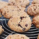 recette cookies chocolat aux pois chiches - vegan