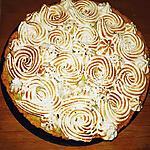 recette tarte citron/menthe meringué (mojito)