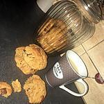 recette Cookies au beurre de cacahuète amande pépites de 3 chocolats