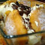 recette Mini charlotte à l'ananas et au chocolat