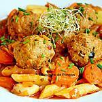 recette Boulettes à la sauce tomate