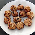 recette cookies tomates séchées chorizo