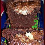 cake chocolat, noix de coco, et bounty