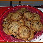 recette cookies chocolat-noix de coco