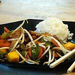 recette Porc Caramélisé à la Mangue
