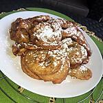 recette Beignets aux pommes Tous en cuisine Cyril Lignac