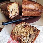 recette Banana bread & concassé de chocolat