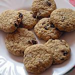 recette Biscuits aux raisins secs