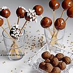 recette Boule au sarrasin, amande, pruneau et spiruline enrobée de chocolat, vegan