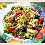 recette 3/4-salade composée fraîcheur d'été