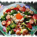 recette 4/4-salade fraîcheur marine