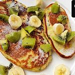recette Blinis aux orties,  kiwi banane
