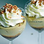 recette Crème de semoule aux raisins secs et caramel au beurre salé