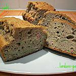 recette cake salé lardons-poireau