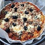 recette Pizza maison au thon