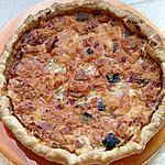 recette quiche a la ratatouille et jambon de bayonne