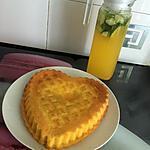 recette Cœur Moelleux a l'orange