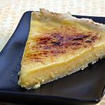 recette Tarte à l'Orange en Crème Brûlée