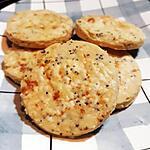recette Biscuits au fromage et graines de pavot