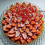 recette Tarte aux fraises très facile