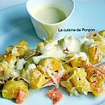 recette Gratin de gnocchi au saumon fumé et asperges