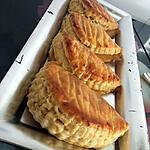 recette Chaussons aux pommes au caramel maison