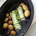 recette Roulé de courgette au merlu