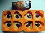 muffin mangue et noisette avec un coeur caramel (6)