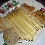 recette Dos de merlu aux asperges des landes et sauce hollandaise