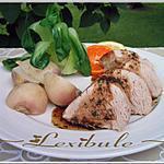recette Filets de porc aux agrumes et à la coriandre