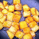 recette Ananas caramélisé et purquoi pas flamnbé !
