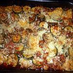 recette Gratin de courgette à la chair à saucisse