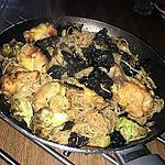 recette Wok de nouille sauté