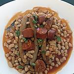 recette haricots blanc chorizo saucisses