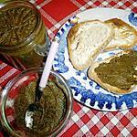recette Tartinade au vert de blettes