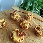 recette Muffins de croissants aux jambon fromage