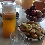 recette Orangeade citronné a la menthe