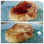 recette Pain perdu fondant et croustillant ,croûte caramelisée