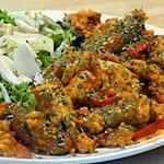 recette Riz Tomato-Safrané aux Poulet, Merguez et Coriandre