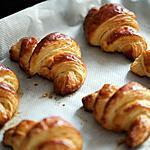 recette Minis croissants au nutella et mini croissants à la confiture de fraise