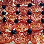 recette tarte croustillante chévre tomate