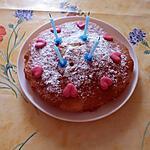 recette Mon gâteau d'anniversaire