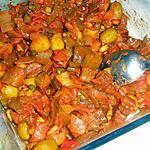 recette Caponata à la tomate