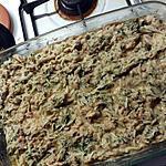 recette Gratin riz aux rillettes de poulet